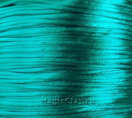 Шнур нейлоновый 1мм Аквамарин, 5 метров