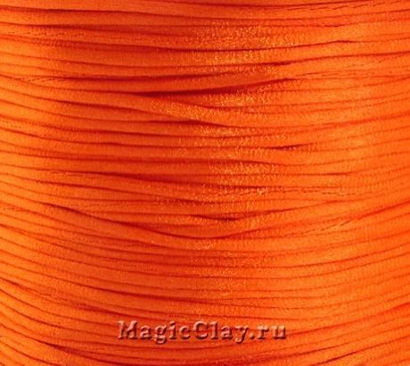Шнур нейлоновый 1мм Оранжевый, 5 метров