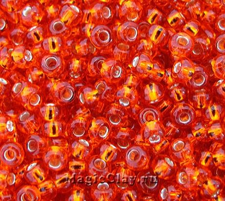 Бисер чешский 10/0 Прозрачный, 97050 Light Orange, 41гр