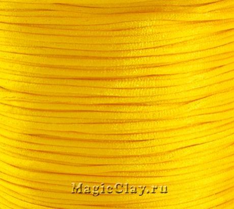 Шнур нейлоновый 1мм Золото, 5 метров