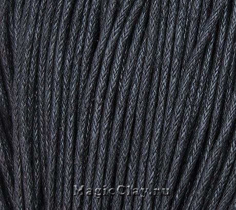 Шнур вощеный 1,5мм Черный, 1 связка (~80метров)
