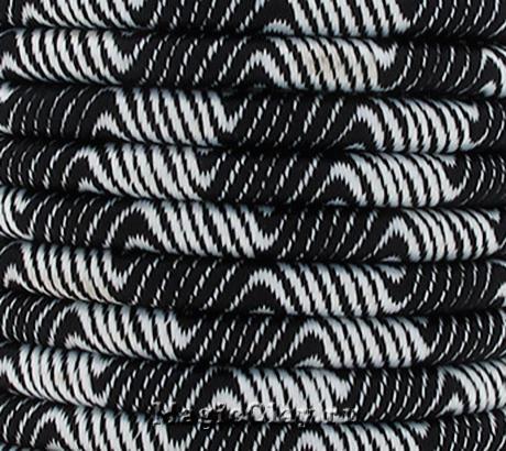 Шнур Кантри 5мм Черный, 1 метр