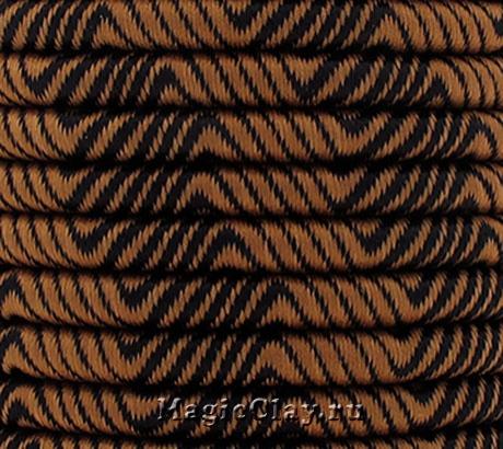 Шнур Кантри 5мм Коричневый, 1 метр