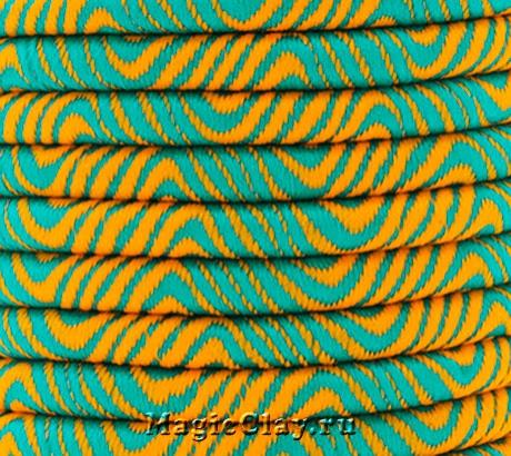 Шнур Кантри 5мм Оранжевый, 1 метр
