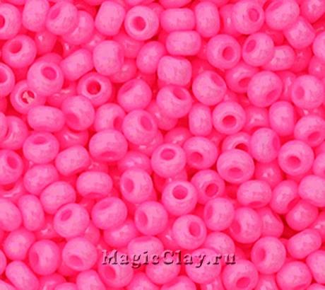 Бисер чешский 10/0 Непрозрачный, 16173 Pink, 41гр
