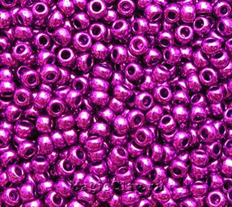 Бисер чешский 10/0 Металлик, 18328 Purple, 41гр