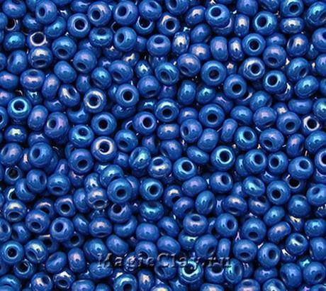Бисер чешский 10/0 Непрозрачный, 34210 Blue, 41гр