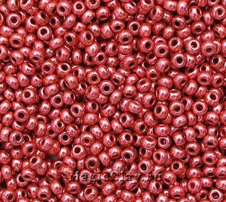 Бисер чешский 10/0 Кристалл, 18598 Red, 41гр