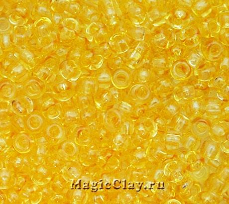 Бисер чешский 10/0 Кристалл, 01181 Light Yellow, 41гр