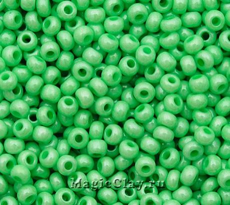 Бисер чешский 10/0 Пастельные тона, 16156 Green, 41гр