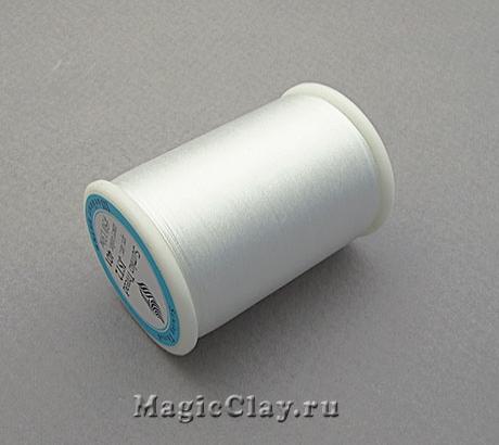 Нить шёлковая Sumiko, цвет Белоснежный