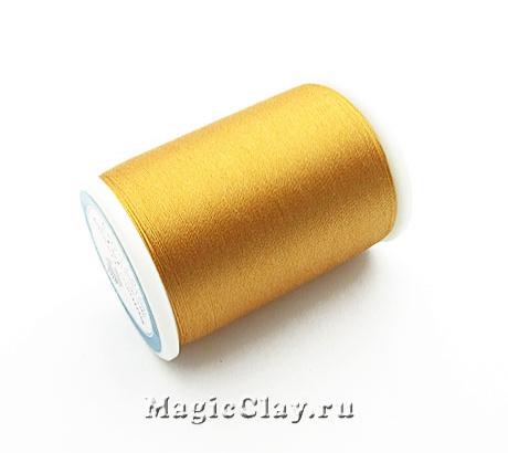 Нить шёлковая Sumiko, цвет Золото Мадагаскара