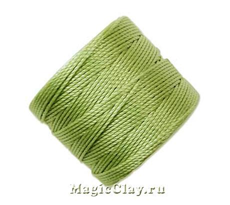 Нейлоновая нить Super-LON, Зеленый Светлый