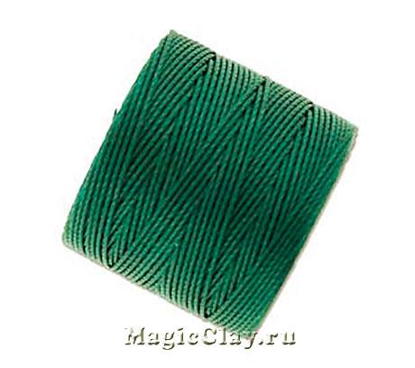 Нейлоновая нить Super-LON, Зеленый Морской