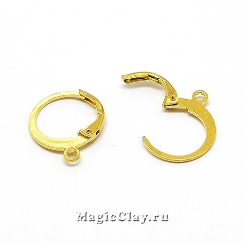 Швензы Франция Кольцо 12мм, сталь, цвет золото, 1пара