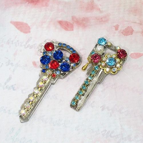 Стразы конусные для бижутерии SS22, цвет Аквамарин