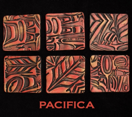 Pixie Art Stamps текстурный лист Pacifica