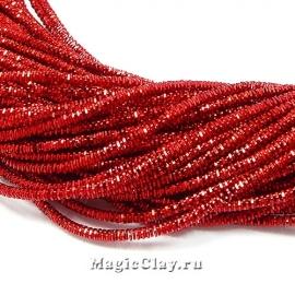 Трунцал 4-гранный 1,5мм Красный, 5 гр (~230см)