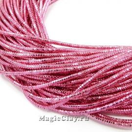 Трунцал 4-гранный 1,5мм Розовый, 5 гр (~230см)