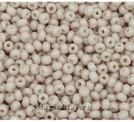 Бисер чешский 10/0 Пастельные тона, 03213 Light Brown, 50гр
