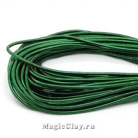 Канитель гладкая 1мм Темно-Зеленый, 5 гр
