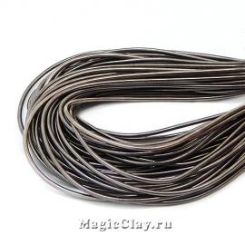 Канитель гладкая 1мм Серый темный, 5 гр