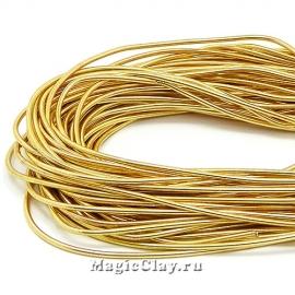 Канитель гладкая 1мм Золото Красное, 5 гр