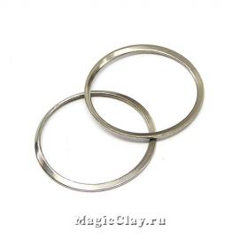 Коннектор Кольцо 25мм, сталь, 10шт