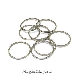 Коннектор Кольцо 15мм, сталь, 10шт