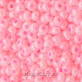 Бисер чешский 10/0 Алебастр, 17173 Pink, 41гр