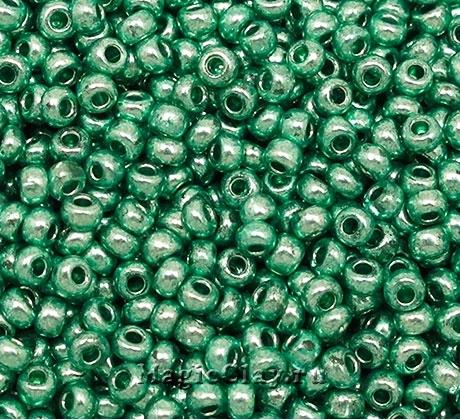 Бисер чешский 10/0 Кристалл, 18558 Green, 50гр