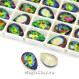 Стразы Люкс Капля 14х10мм, цвет Crystal Vitrail Medium, 1шт