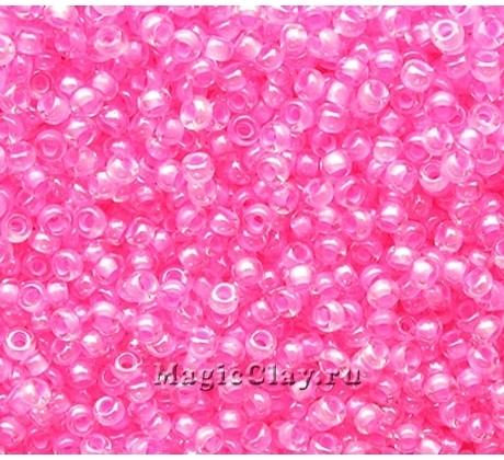 Бисер чешский 10/0 Кристалл, 38394 Light Pink, 50гр