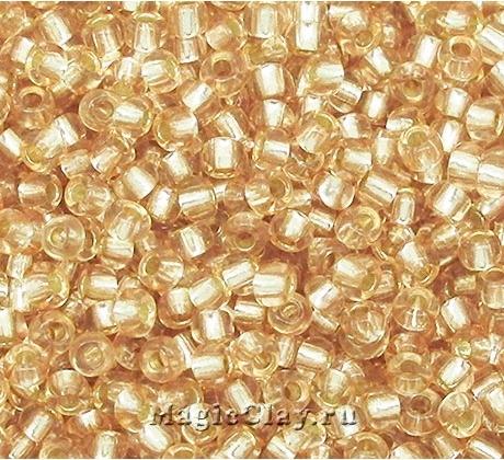 Бисер чешский 10/0 Кристалл, 78111 Light Beige, 50гр