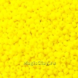 Бисер чешский 8/0 Непрозрачный, 83110 Lemon Yellow, 50гр