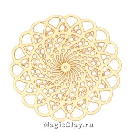 Филигрань Ажур Плетение 30мм, цвет золото, 1шт
