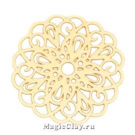 Филигрань Ажур Кружева 26мм, цвет золото, 1шт