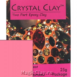 Эпоксидная глина Crystal Clay, Розовый Светлый