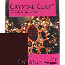 Эпоксидная глина Crystal Clay, Коричневый Темный