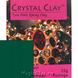Эпоксидная глина Crystal Clay, Зеленый Темный