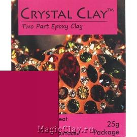 Эпоксидная глина Crystal Clay, Фуксия