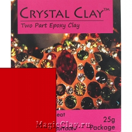 Эпоксидная глина Crystal Clay, Красный