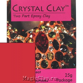Эпоксидная глина Crystal Clay, Розовый