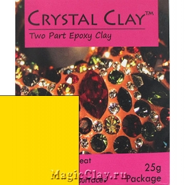 Эпоксидная глина Crystal Clay, Желтый