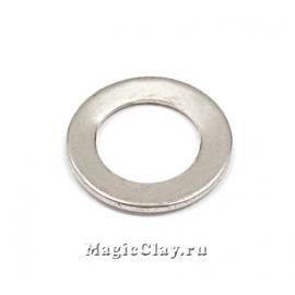 Коннектор Круг Плоский 11х1мм, сталь, 10шт