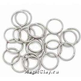 Колечки разъемные 10х1мм, сталь, 20гр (~120шт)