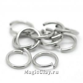 Колечки разъемные 7х1мм, сталь, 1уп (~100шт)