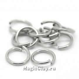 Колечки разъемные 8х1мм, сталь, 16гр (~120шт)