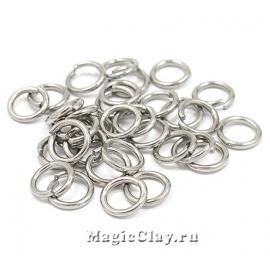 Колечки разъемные 8х1,2мм, сталь, 25гр (~130шт)