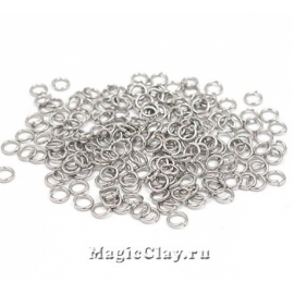 Колечки разъемные 3х0,5мм, сталь, 1уп (~400шт)